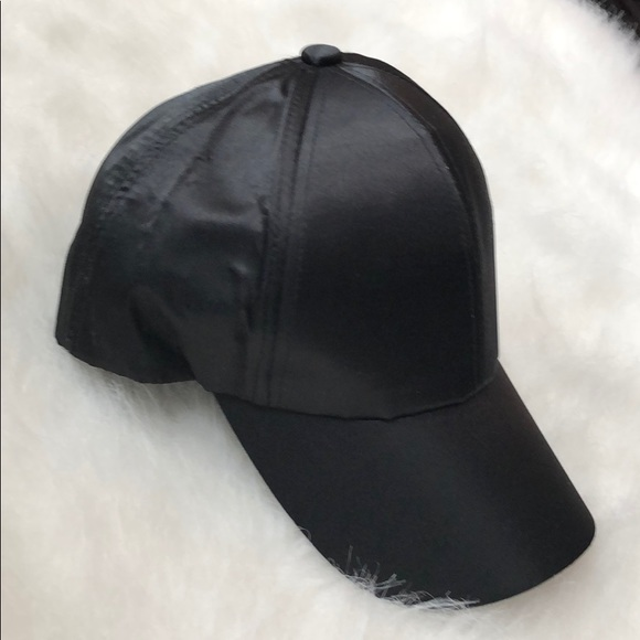 41948aacce Nordstrom Accessories | Womens Black Satin Hat | Poshmark